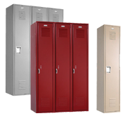 Single Tier School Lockers