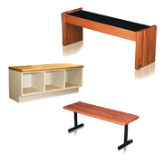 Wood Locker Room Benches / Wooden Benches
