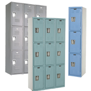 Triple Tier School Lockers 