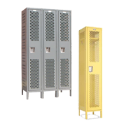 Single Tier Sports Lockers