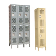 Employee Locker Room Lockers Double Tier