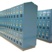 Athletic Metal Box  Lockers 