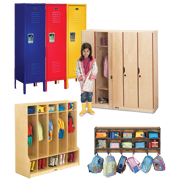 Preschool Lockers / Home School Lockers