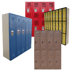 Used School Lockers