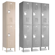 Double Tier Employee Lockers 