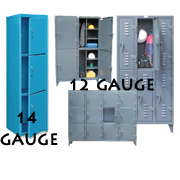 Heavy Duty Metal Lockers