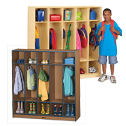 Kids Coat Lockers