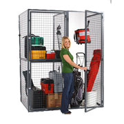 Wire Mesh Equipment Lockers