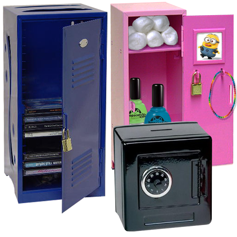 Perfect Tiny Lockers With Lock U0026 Key