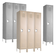 Single Tier Employee Lockers 
