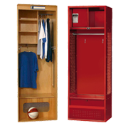Sports Equipment Lockers