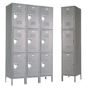 Triple Tier Employee Lockers 