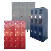 Used Steel Storage Lockers
