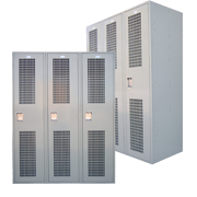 Ventilated Employee Lockers Single Tier 