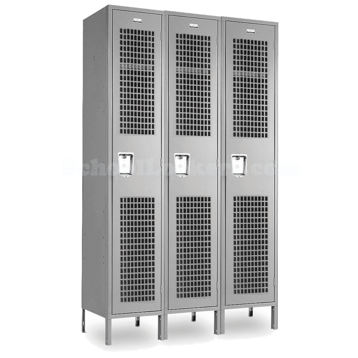 Single Tier Ventilated Employee Lockers Schoollockers Com