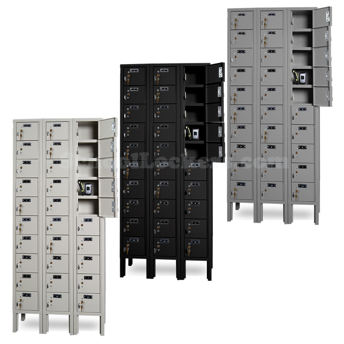 30 Cell Phone Lockers Unit With Key Locks Schoollockers Com