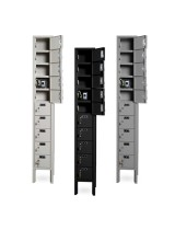10 Cell Phone Lockers Unit with Key Locks