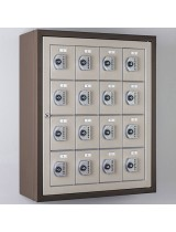 Bronze cell phone lockers