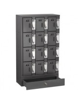 12 Cell Phone Mini Lockers Unit