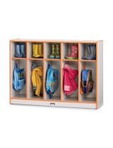 Colorful Toddler Coat Lockers