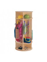 Kids Revolving Coat Locker with Cubbies