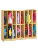 Kids Wood Coat Lockers