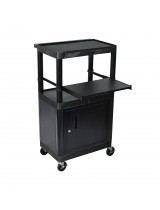 Laptop Presentation Locker Cart