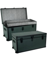Military Green Storage Foot Locker