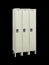 Single Tier Rust Resistant Lockers