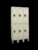 Double Tier Rust Resistant Lockers