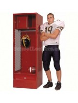 Stadium Sports Locker Fully Loaded with Shelf, Security Box, and Footlocker