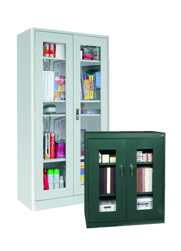 See-Through Storage Lockers