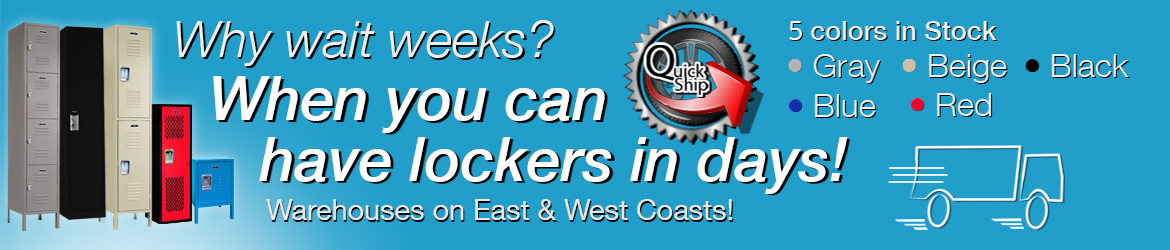 Quick Ship - Lockers In Stock