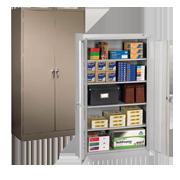 Metal Storage Lockers / Steel Storage Lockers · Garage Industrial Storage  Cabinets