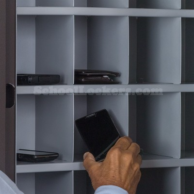 16 Cell Phone Keyless Lockers Unit For Sale
