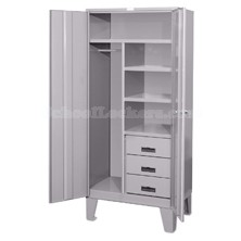 3 Drawer Wardrobe Storage Locker With Legs