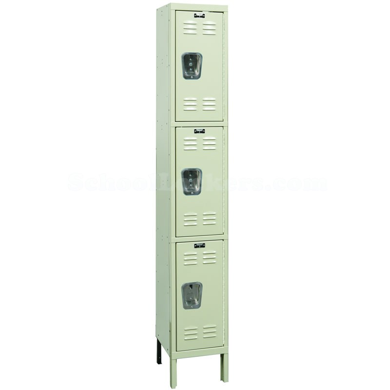 Triple Tier Rust Resistant Locker 1 Wide