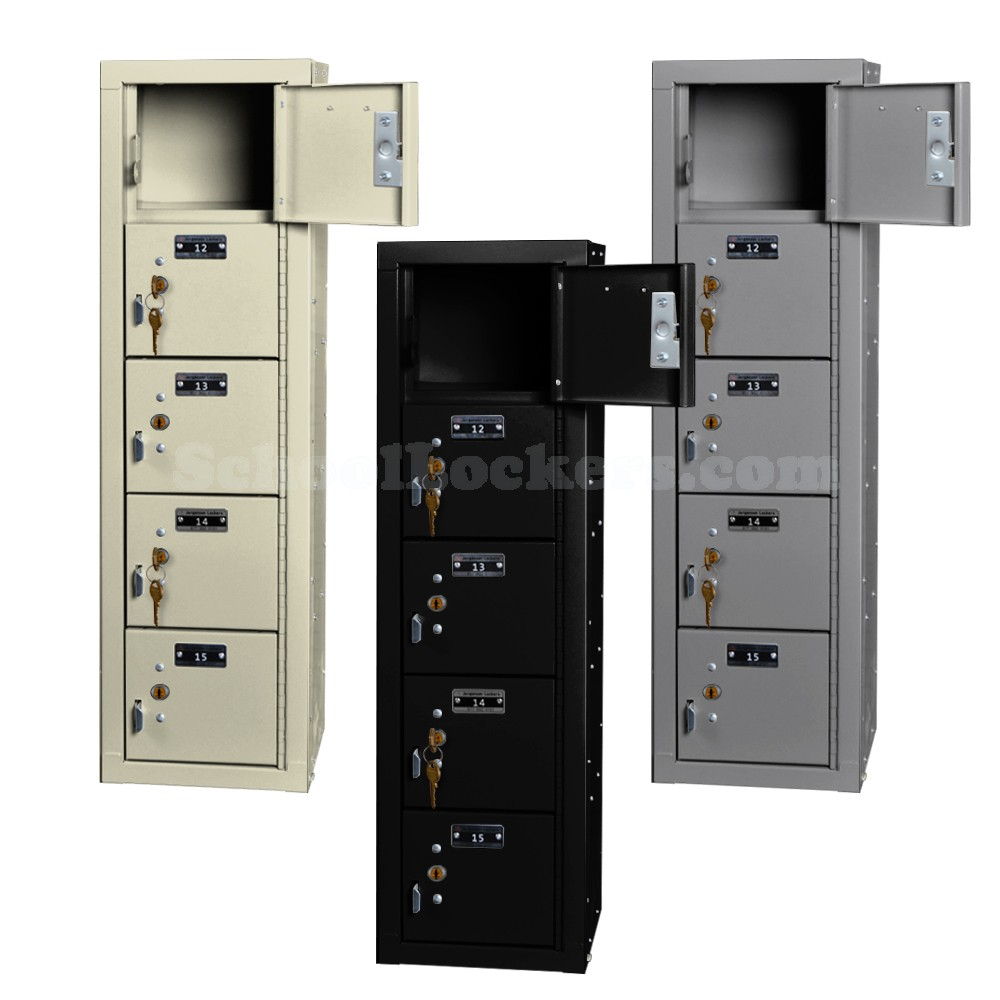 5 Cell Phone Lockers Unit With Key Locks Schoollockers Com