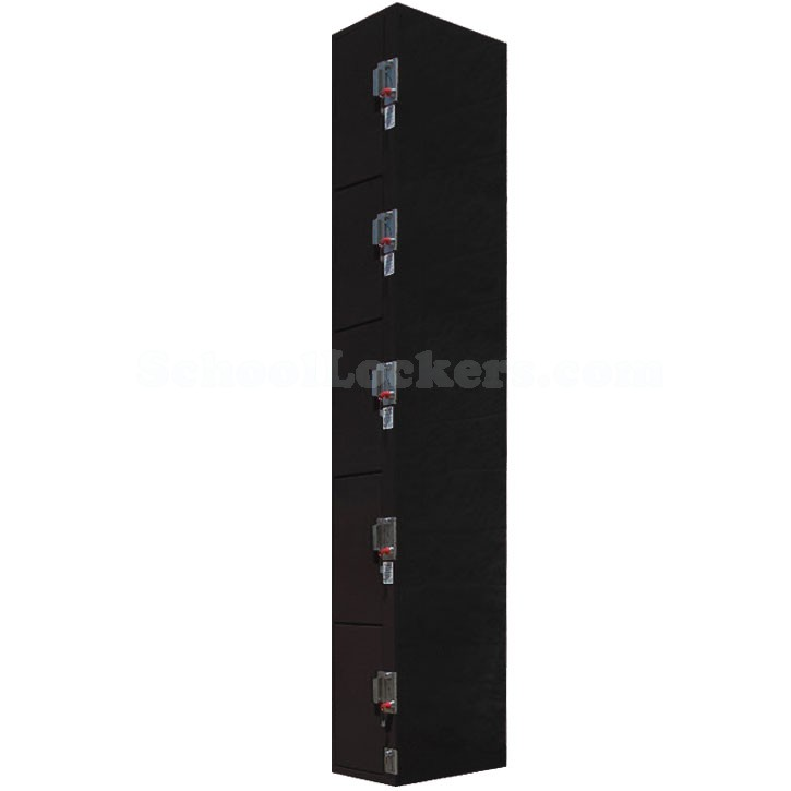 Five Tier Coin Operated Lockers
