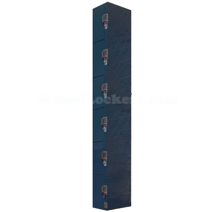 Coin Operated Six Tier Lockers