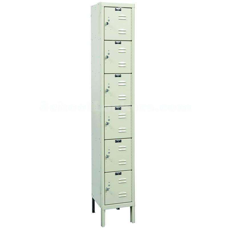 Six Tier Rust Resistant Box Locker