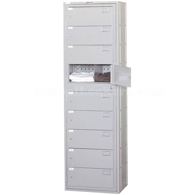 Nine Compartment Clothing Locker (Image 1)