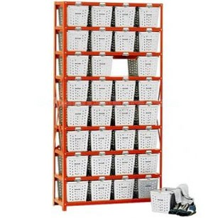 Basket Lockers 8 High 4-Wide