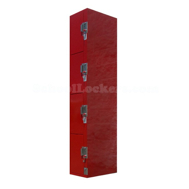 Coin Operated Four Tier Lockers