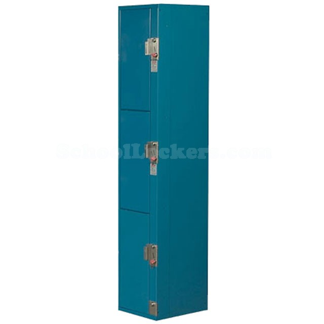Triple Tier Coin Operated Lockers