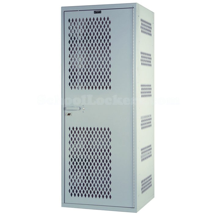 Hallowell ventilated security locker