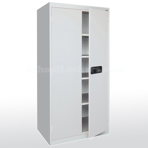 sc 1 st  SchoolLockers.com & Keyless Storage Cabinet with Electronic Lock