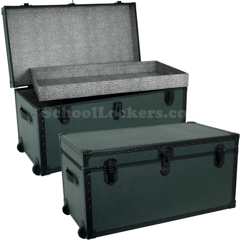 Military Green Storage Foot Locker Schoollockers Com