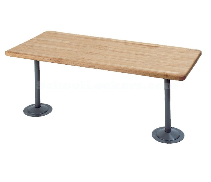 Locker Room Bench Pedestals