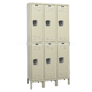 Double Tier Rust Resistant Lockers